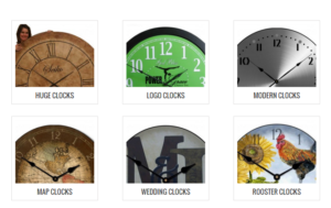 extra large oversized wall clocks